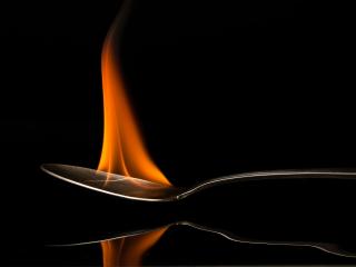 Mars: Bilde i flammer