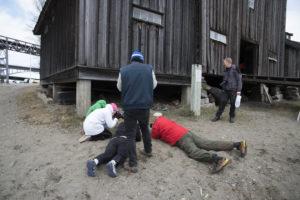 Fototur til Mjøssamlingene Foto: Jeanette Slora Johansen