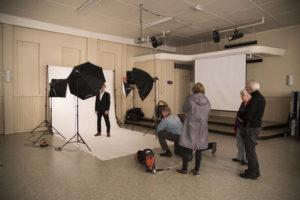 Workshop på Søndre Samfund Foto: Jeanette Slora Johansen